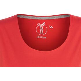 Elkline Freilich T-Shirt Femme, truered